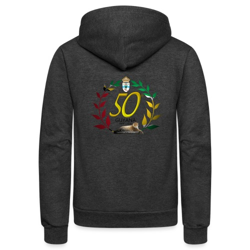 Guyana's 50th - Unisex Fleece Zip Hoodie