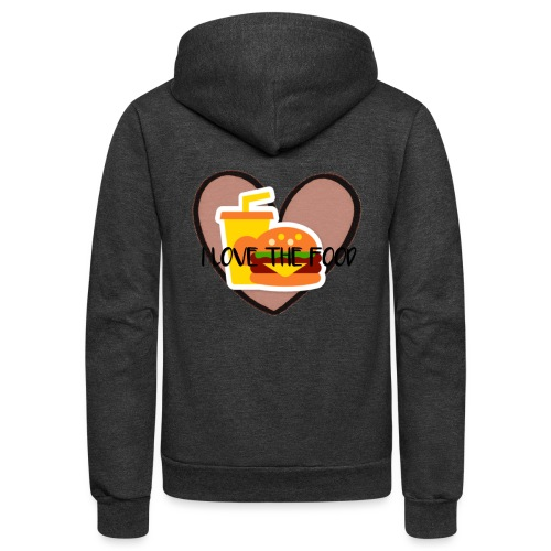 Food - Unisex Fleece Zip Hoodie