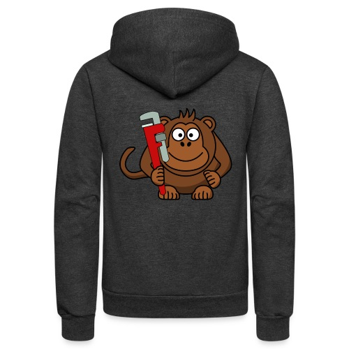 Monkey wrench - Unisex Fleece Zip Hoodie
