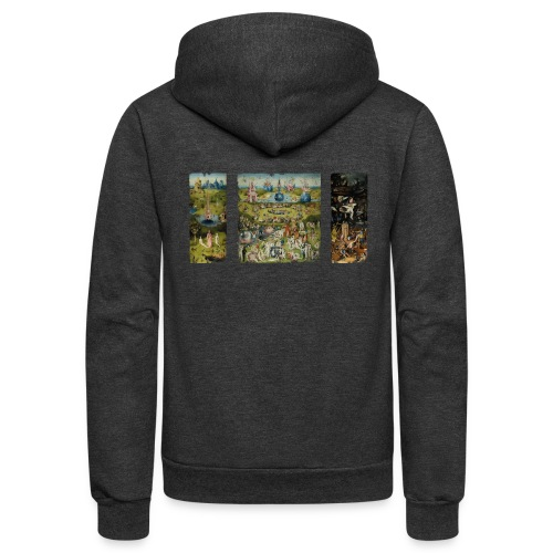 Garden Of Earthly Delights - Unisex Fleece Zip Hoodie