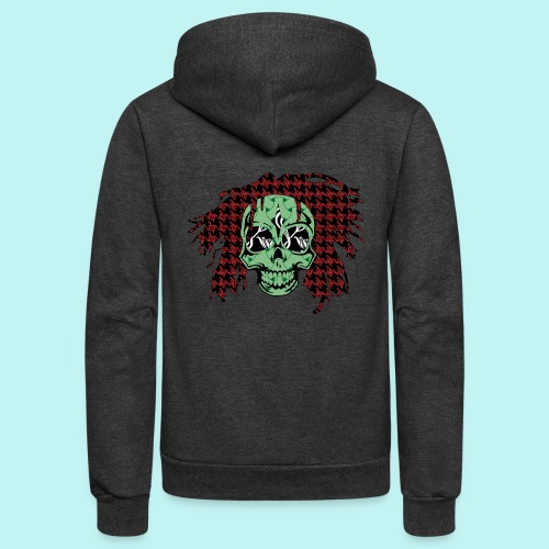 BOB MARLEY SKULLY - Unisex Fleece Zip Hoodie