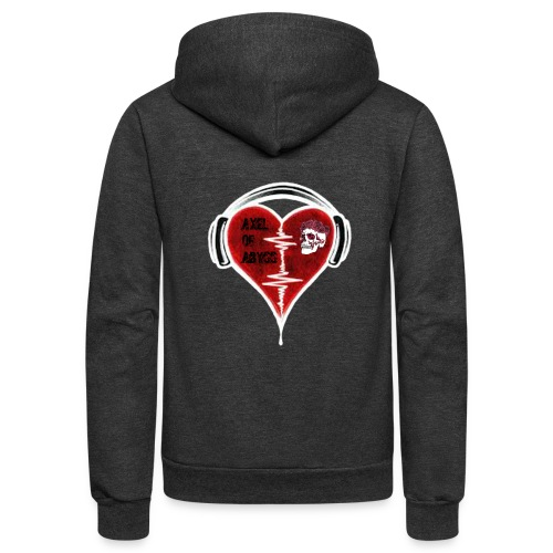 Axelofabyss Music in your heart - Unisex Fleece Zip Hoodie