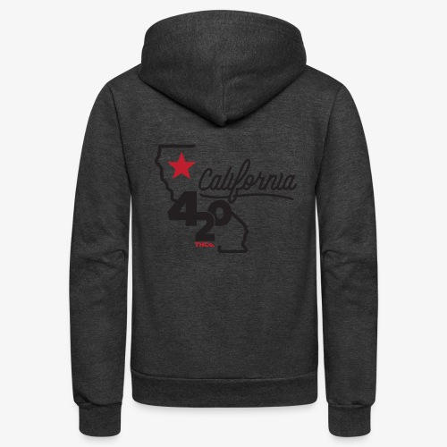 California 420 - Unisex Fleece Zip Hoodie
