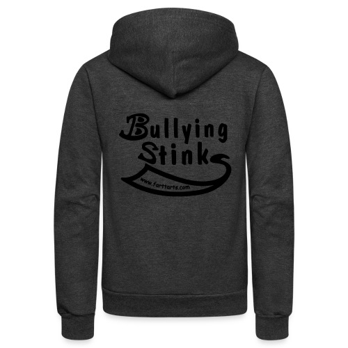 Bullying Stinks! - Unisex Fleece Zip Hoodie