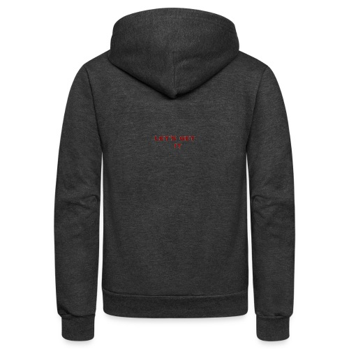 Let's Get It - Unisex Fleece Zip Hoodie