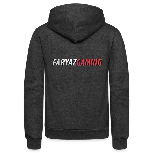 FaryazGaming Text - Unisex Fleece Zip Hoodie
