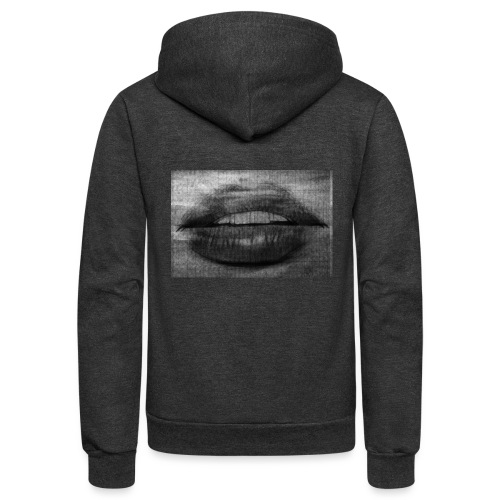 Blurry Lips - Unisex Fleece Zip Hoodie