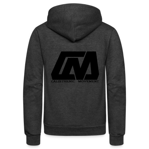 Cali Move Front black women - Unisex Fleece Zip Hoodie