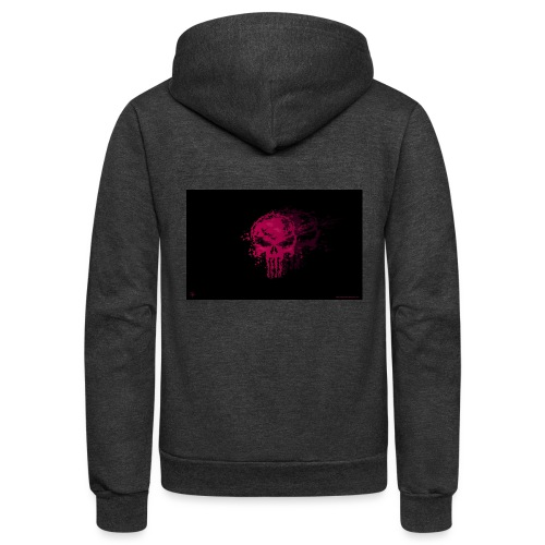 hkar.punisher - Unisex Fleece Zip Hoodie