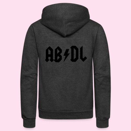 ABDL Rock - Unisex Fleece Zip Hoodie