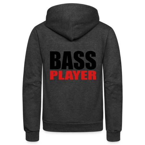 Bass Player - Unisex Fleece Zip Hoodie