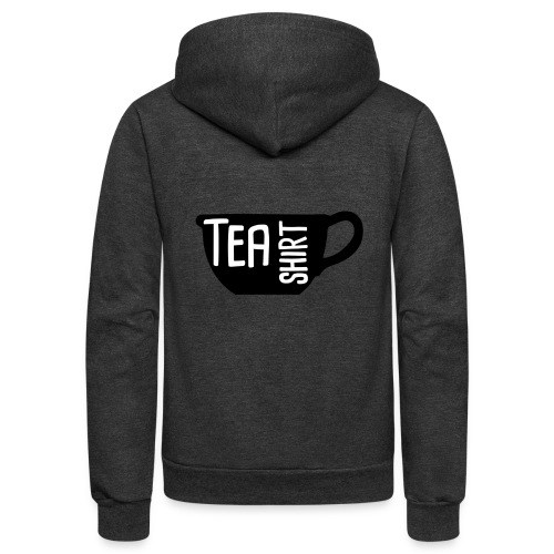 Tea Shirt Black Magic - Unisex Fleece Zip Hoodie