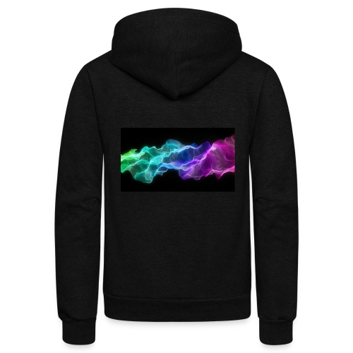 ws Curtain Colors 2560x1440 - Unisex Fleece Zip Hoodie