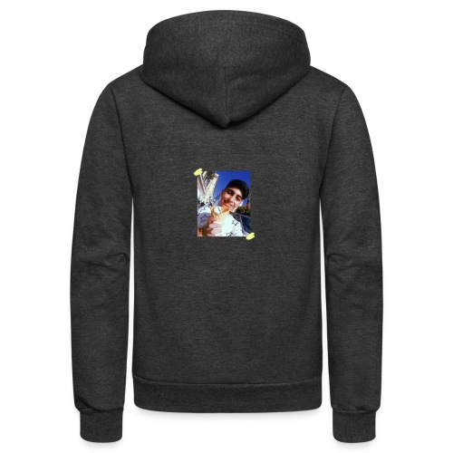WITH PIC - Unisex Fleece Zip Hoodie