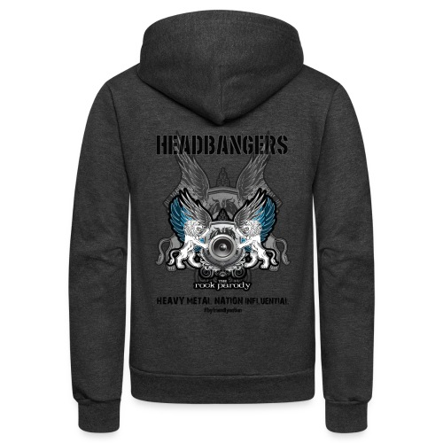 We, The HeadBangers - Unisex Fleece Zip Hoodie
