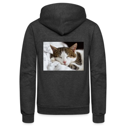 women's Cat T-shirt - Unisex Fleece Zip Hoodie