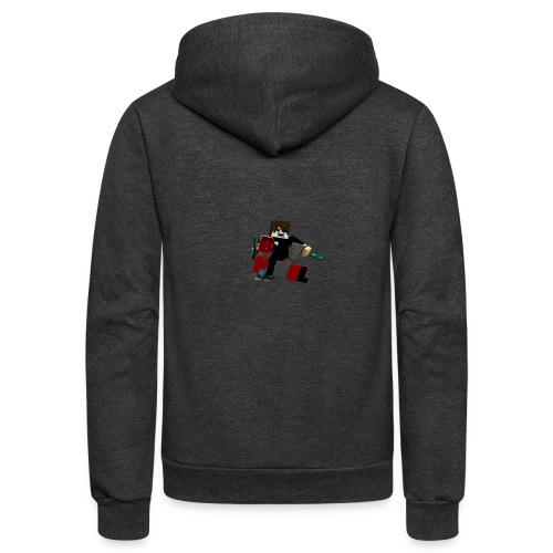 Batpixel Merch - Unisex Fleece Zip Hoodie