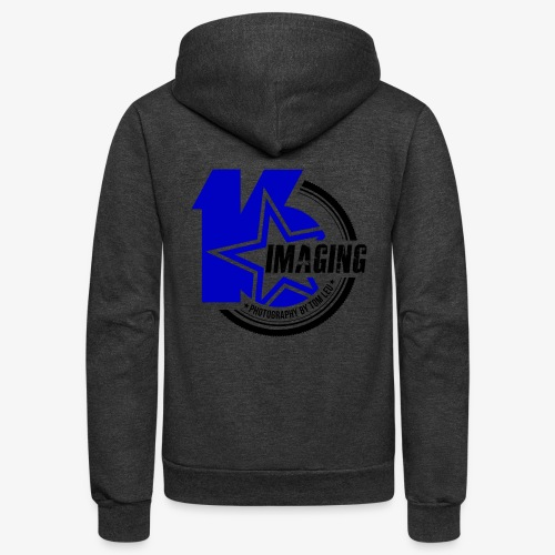 16 Badge Color - Unisex Fleece Zip Hoodie
