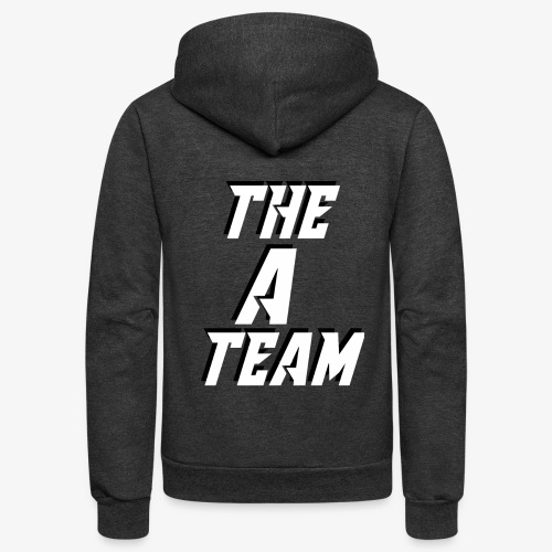 THE A TEAM - Unisex Fleece Zip Hoodie