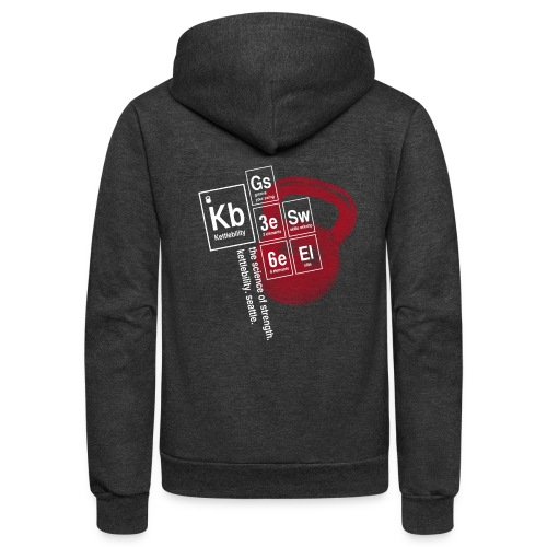 Table of Elements - Unisex Fleece Zip Hoodie