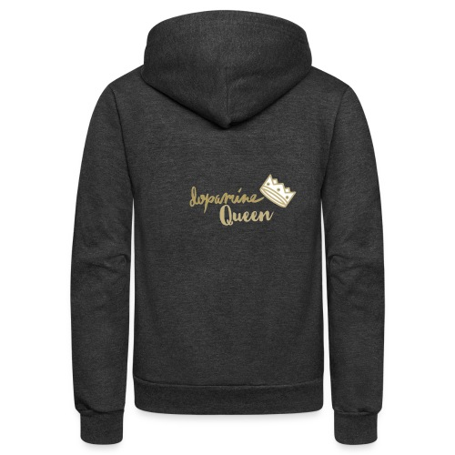 Dopamine Queen - Unisex Fleece Zip Hoodie