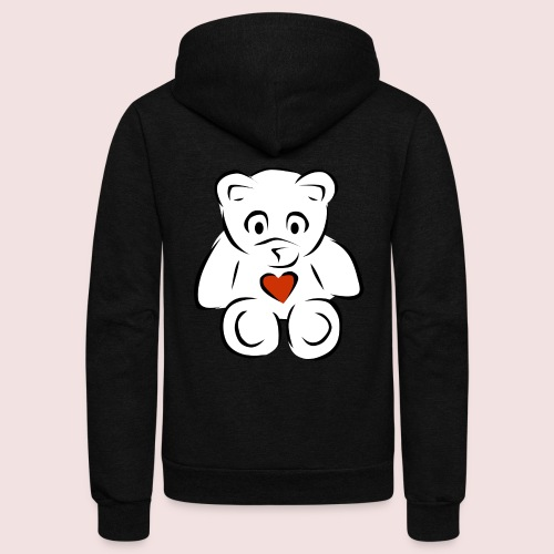 Sweethear - Unisex Fleece Zip Hoodie