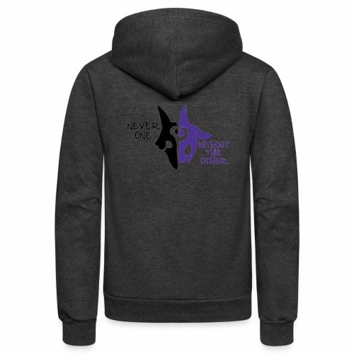 Kindred's design - Unisex Fleece Zip Hoodie