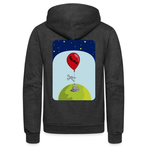 dreams balloon and society 2018 - Unisex Fleece Zip Hoodie