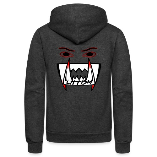 Littism Vampire Glory Face - Unisex Fleece Zip Hoodie