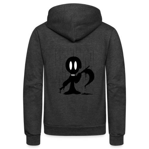 Dramatic Rain - Unisex Fleece Zip Hoodie