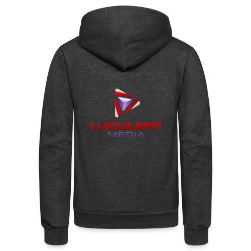 Luculent Media Swag - Unisex Fleece Zip Hoodie