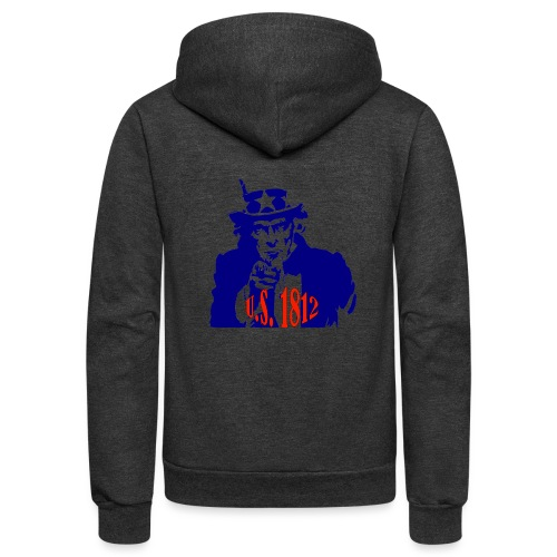 uncle-sam-1812 - Unisex Fleece Zip Hoodie