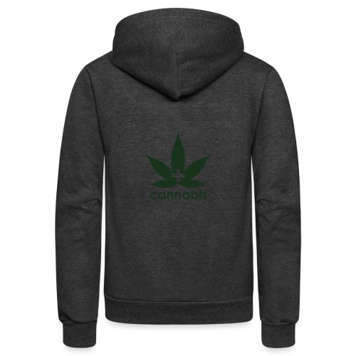 Medical Cannabis Supporter - Unisex Fleece Zip Hoodie