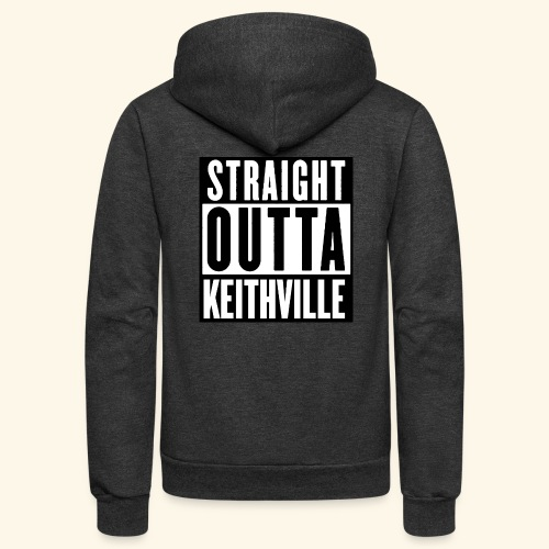 STRAIGHT OUTTA KEITHVILLE - Unisex Fleece Zip Hoodie