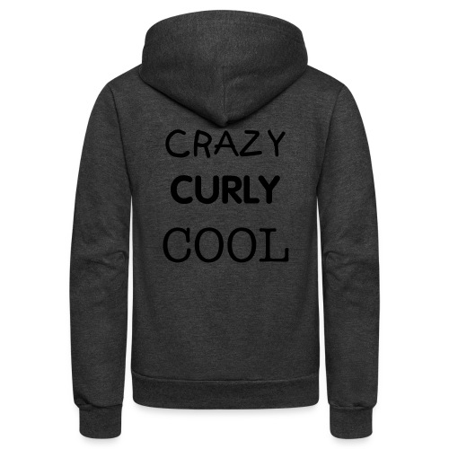 Crazy Curly Cool - Unisex Fleece Zip Hoodie