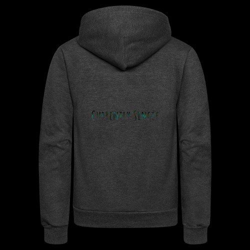 Currently Single T-Shirt - Unisex Fleece Zip Hoodie