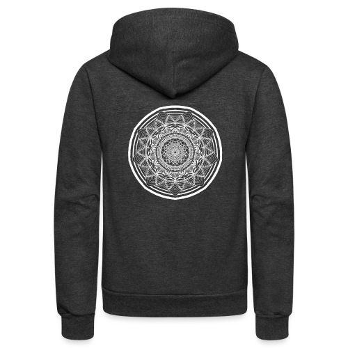 Circle No.1 - Unisex Fleece Zip Hoodie