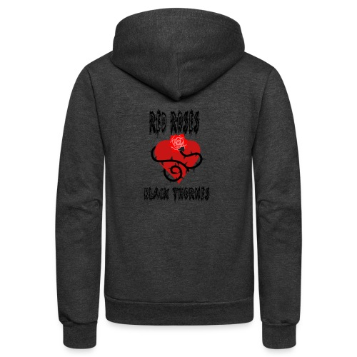 Your'e a Red Rose but a Black Thorn shirt - Unisex Fleece Zip Hoodie