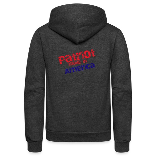 Patriot mug - Unisex Fleece Zip Hoodie