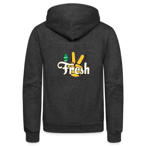 2Fresh2Clean - Unisex Fleece Zip Hoodie