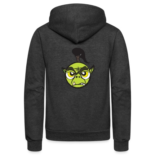 Warcraft Baby Orc - Unisex Fleece Zip Hoodie