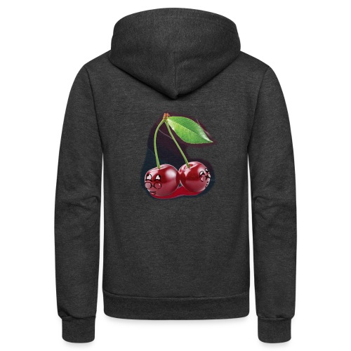 Cherry Bombs - Unisex Fleece Zip Hoodie