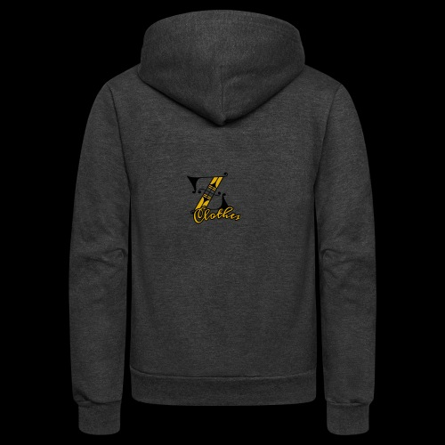 Z Clothes - Unisex Fleece Zip Hoodie