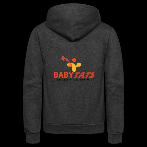 BABY TATS - TATTOOS FOR INFANTS! - Unisex Fleece Zip Hoodie