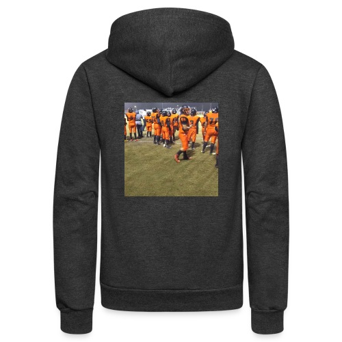 Football team - Unisex Fleece Zip Hoodie