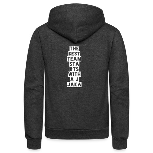 The Best Team Jaka - Unisex Fleece Zip Hoodie