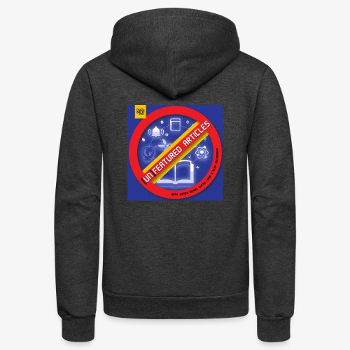 unFeatured Articles Cover - Unisex Fleece Zip Hoodie