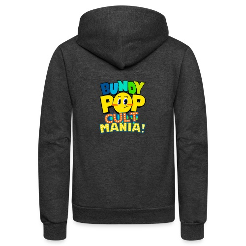 Bundy Pop Main Design - Unisex Fleece Zip Hoodie