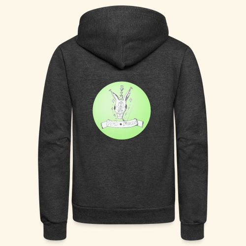 Dead Deer Walking - Unisex Fleece Zip Hoodie