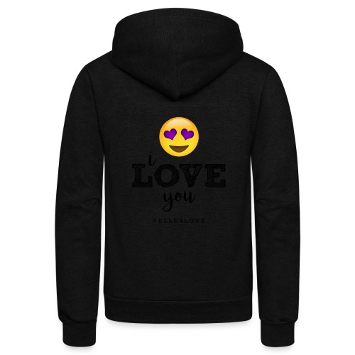 I LOVE you - Unisex Fleece Zip Hoodie